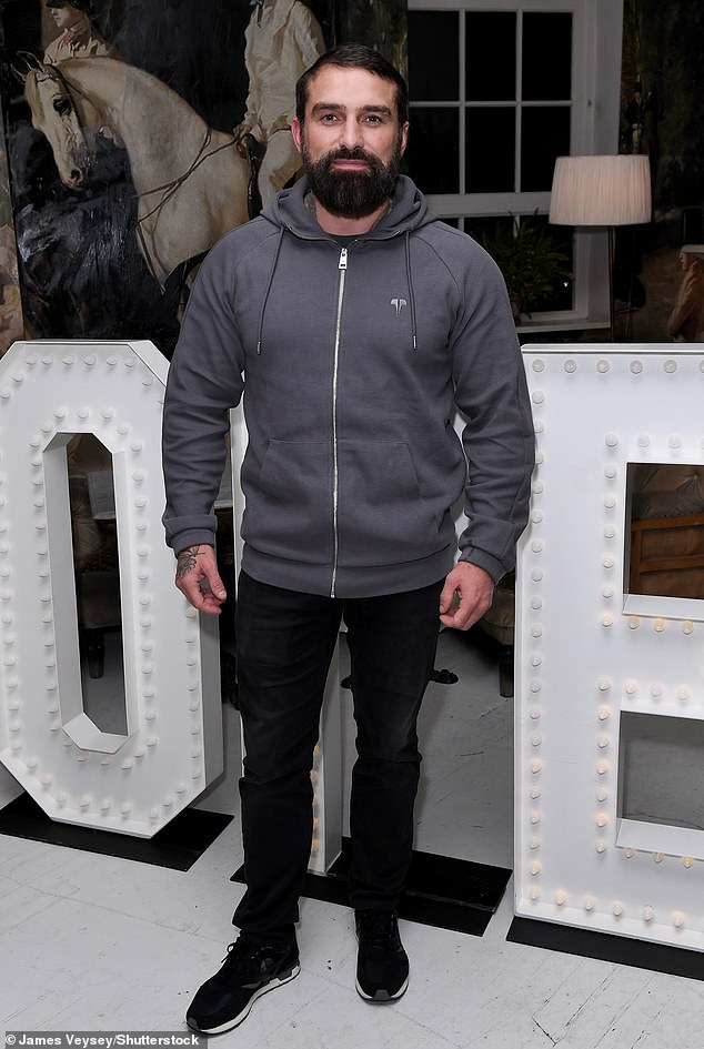 History: Ant Middleton, 40, (pictured) has spoken about one of the darker chapters of his life in a Sunday interview with the Sydney Morning Herald. Seen here in 2020
