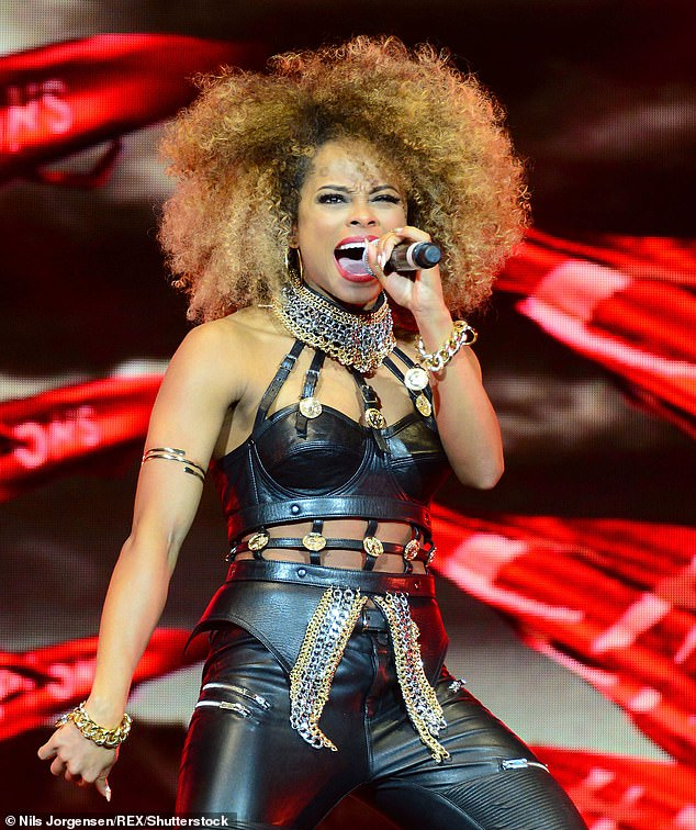 Speaking out: Fleur East has revealed she thinks taking part in The X Factor should 'come with a warning' for the show's young stars about the pitfalls of fame (pictured in 2015)