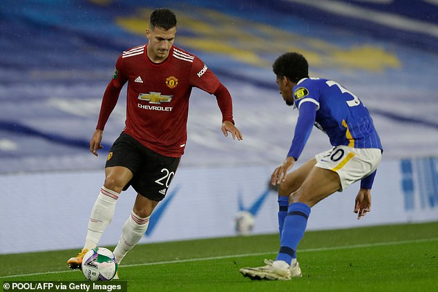 Dalot has played 35 times for United but had to go on loan in order to gain further experience