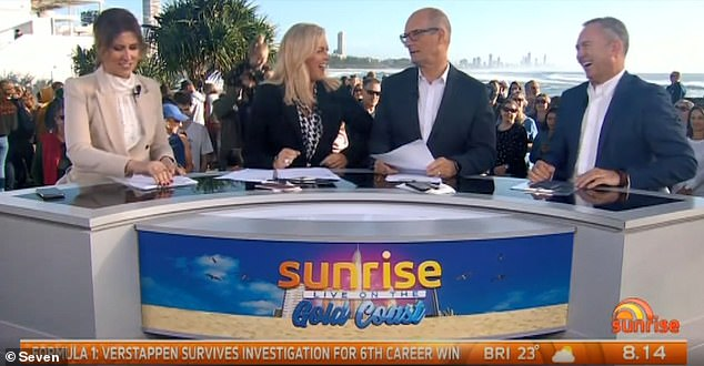 Shots fired! The morning after the 2019 Logies, Kochie accused Martha live on Sunrise of elbowing him in the ribs and being 'pushy' while trying to get to the media wall