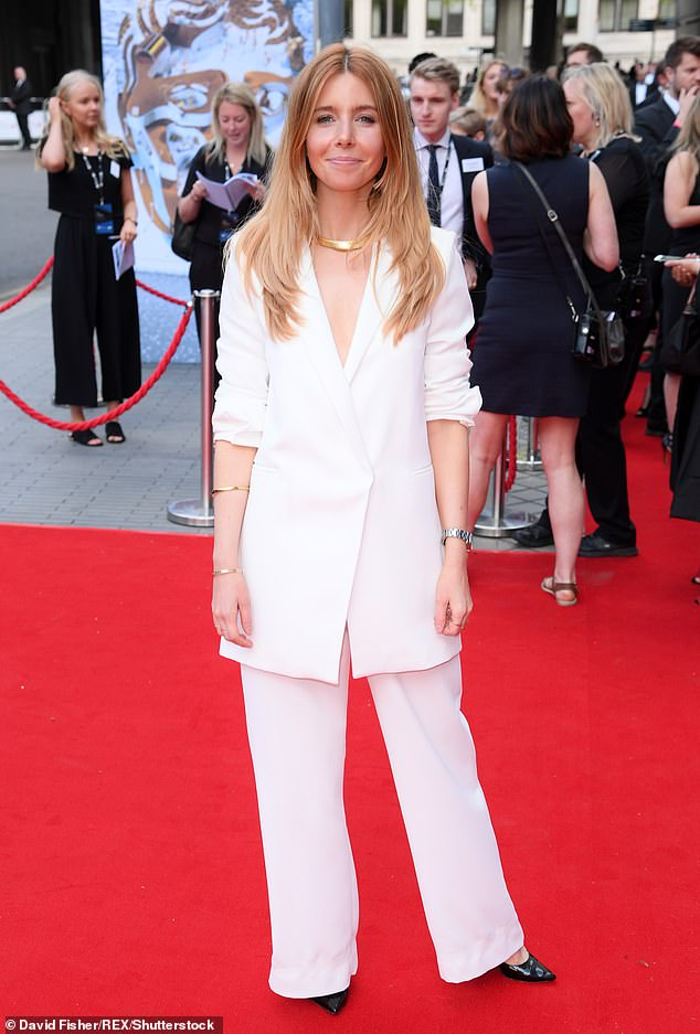 Big night: Presenters Stacey Dooley (pictured) and Vick Hope will introduce the hologram guests to those actually at the socially distanced ceremony
