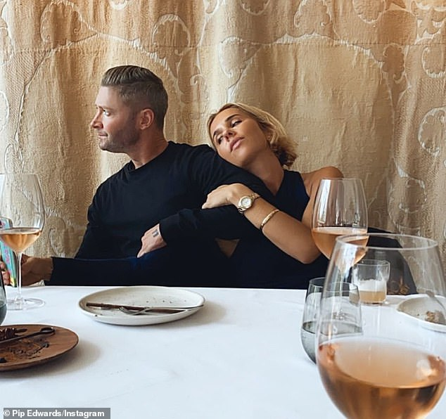 Whirlwind romance:After ending his marriage, Michael began dating Pip (pictured). It's understood Pip is now dating Bondi restaurateur Cameron Northway