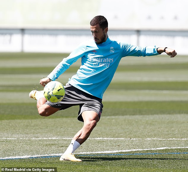 Hazard is still committed to making his time at LaLiga giants Real Madrid a success