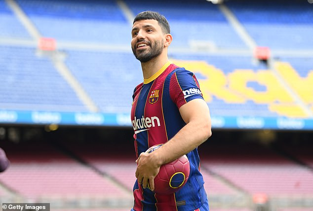 He also took a swipe at Man City and claiming he has taken a step forward by joining Barca
