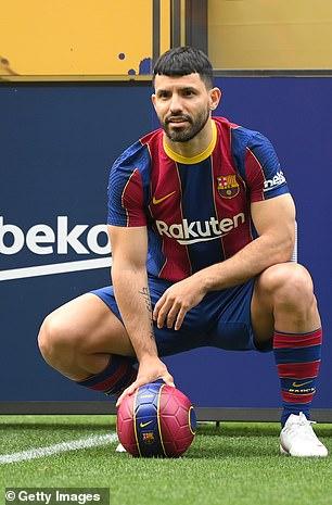 Aguero has joined Barcelona