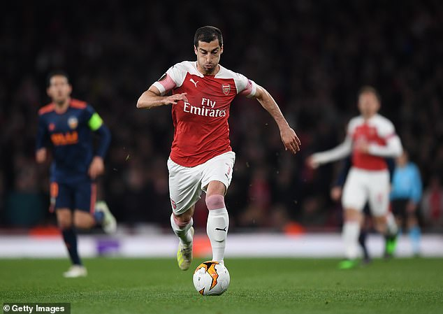 The Armenian midfielder described his time in north London playing for Arsenal as a 'fairy-tale'
