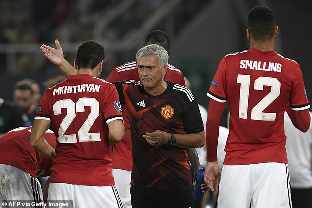 Mkhitaryan claims he was criticised by Mourinho for Manchester United's poor results