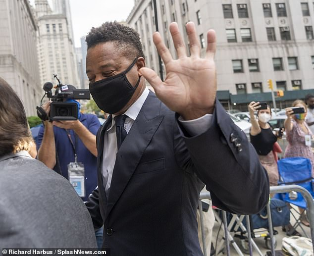 Claims:One of the women alleged Gooding pinched her buttocks. Another said he squeezed her breast at the Magic Hour rooftop in New York City in June last year