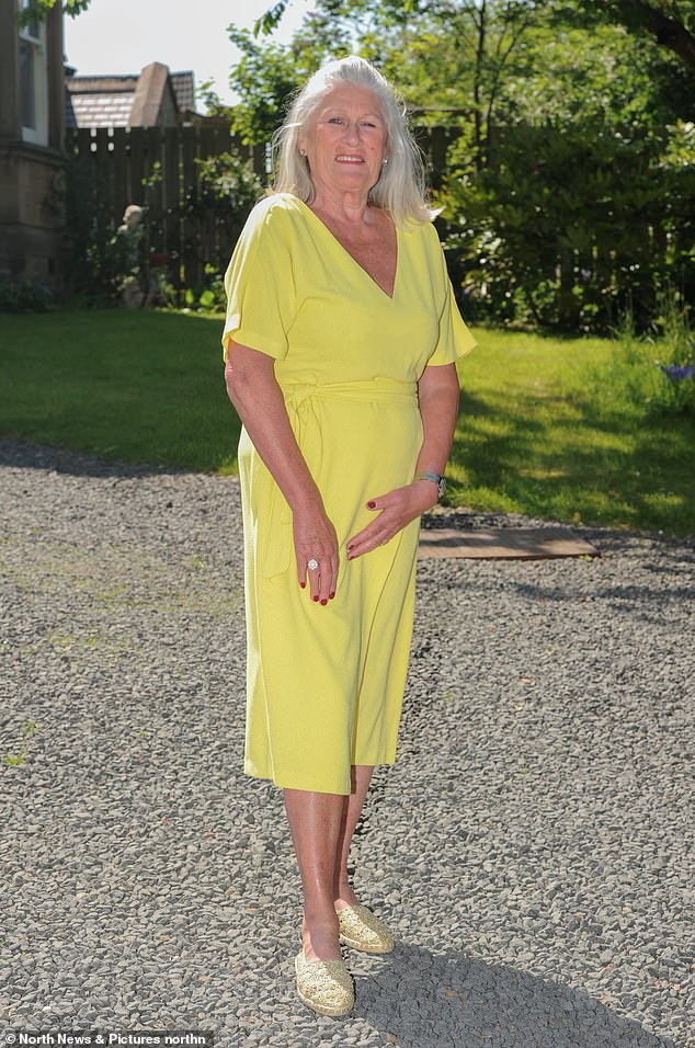 Mrs Brough, 68, from Prudhoe in Northumberland, who lives with husband David, 72, started the soups and shakes diet in 2016. Starting at 11 stone 12lb (75kg), she managed to lose more than two stone in just three months and reverse her diabetes. 'Cooking my husband's meals was the hardest part,' she said