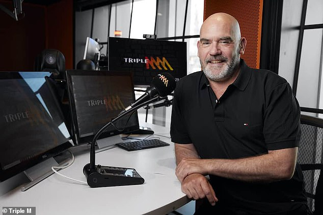 Not bad! Triple M presenter Marty Sheargold also earns 'in the millions', according toRadio Today publisher Jake Challenor