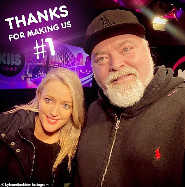 No. 1: KIIS 106.5 duo Kyle Sandilands and Jackie 'O' Henderson are paid $5million a year each to host Sydney's top-rated FM breakfast show - making them the industry's biggest earners