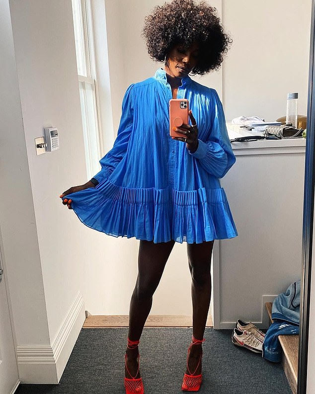 Model-turned-TV chef Lorraine Pascale, who was the first black British woman to be on the cover of American Elle magazine, admits she's only just learned to feel beautiful, at the age of 48