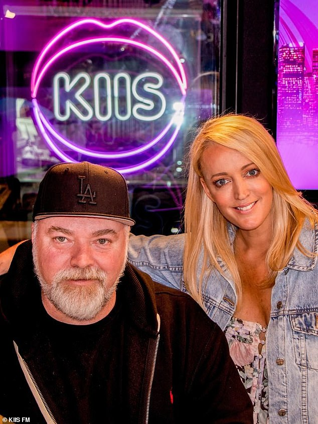 Success:Kyle Sandilands and Jackie 'O' Henderson are still dominating the ratings, more than six years after moving their radio show from 2Day FM to KIIS FM