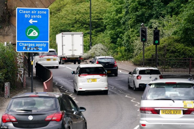 The Clean Air Zone in Birmingham will affect around a quarter of all cars on the city's roads, according to the AA