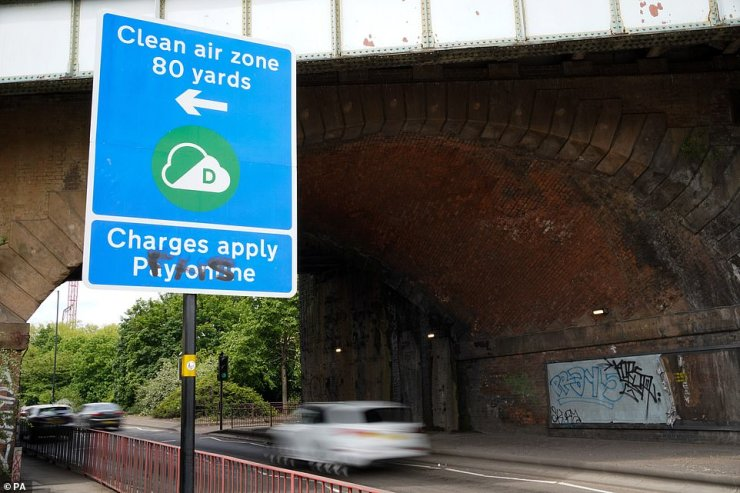 Birmingham City Council introduced the scheme after the government ordered it to crack down on air pollution