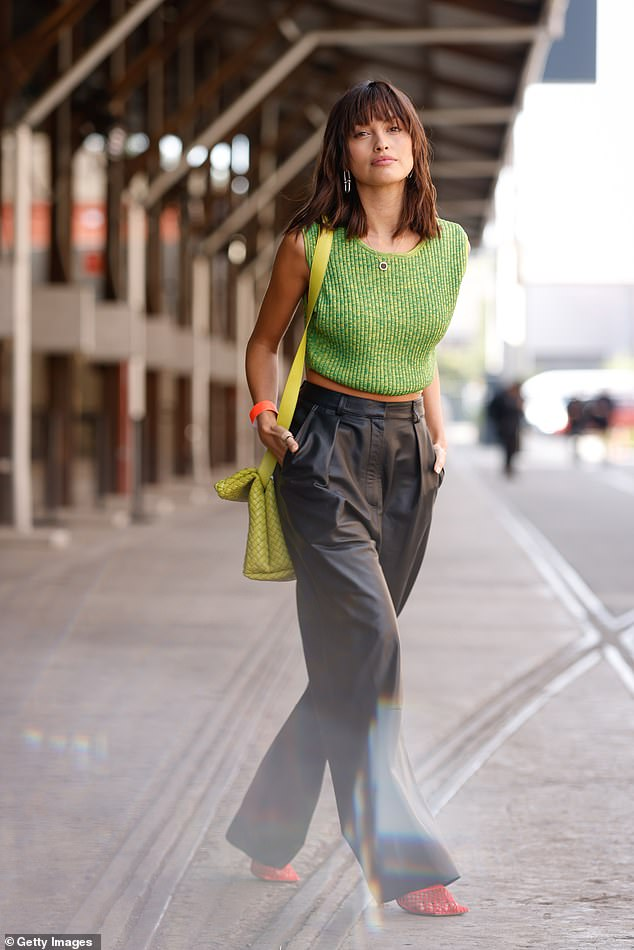 Wow!Sarah Ellen (pictured) was certainly serving some looks as she attended Afterpay Australian Fashion Week this week. She turned heads in a series of high fashion ensembles