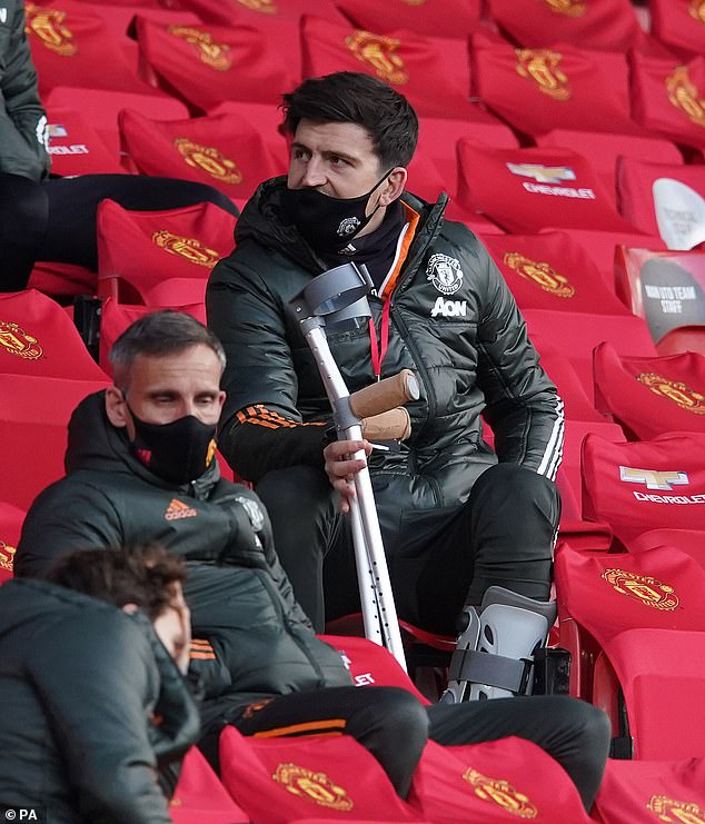 Harry Maguire is struggling with an ankle injury and faces a fitness race for the Croatia game