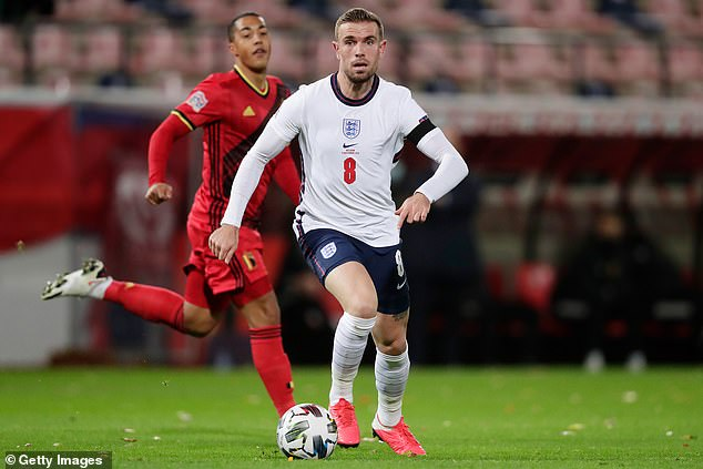 Jordan Henderson's vast experience wins him a squad place despite injury troubles