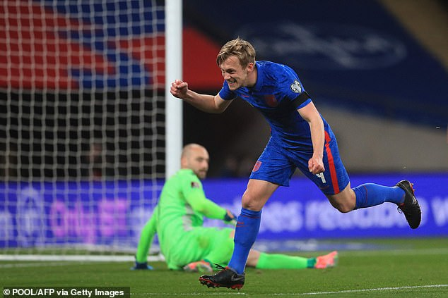 James Ward-Prowse was delighted to score in England's World Cup qualifier with San Marino