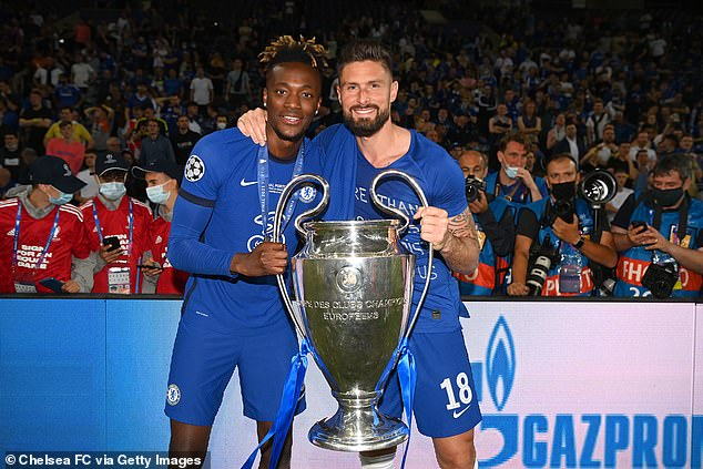 Tammy Abraham and Olivier Giroud could also be on their way out of Stamford Bridge