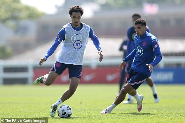 Liverpool's Trent Alexander-Arnold (left) will be hoping he is not omitted from the squad too