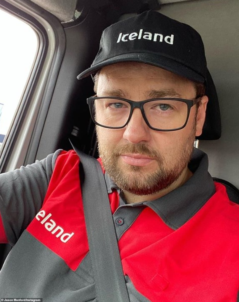 Frontline:It comes after Jason earned praise from fans after he took on a job as a delivery driver for Iceland during the first lockdown with his wages being donated to charity
