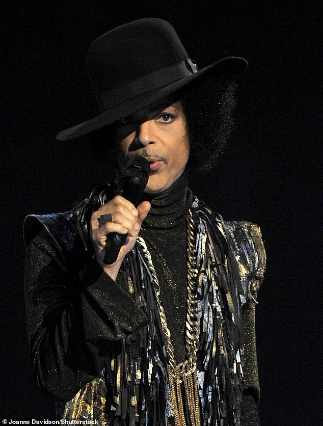 Incident: Sinead said Prince (pictured in 2014) had invited her to his home after releasing her 1991 cover of his song Nothing Compares 2 U, but ended up fleeing in the middle of the night