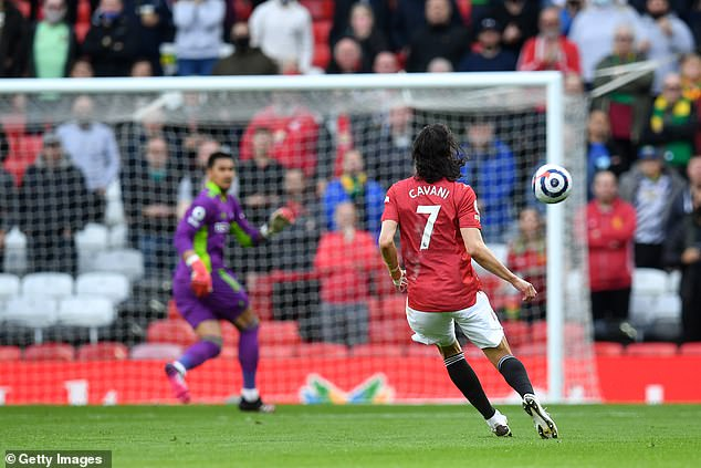Edinson Cavani's goal last month against Fulham for 40 yards is the final goal included