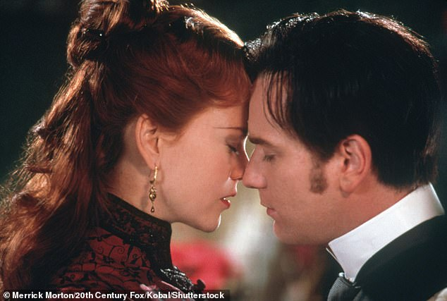 Young lovers:The synopsis: 'A young Englishman in the Paris of 1899, becomes infatuated with Satine, a singer at the Moulin Rouge. However, she has been promised by the manager to a Duke in return for funding his next production. As the young lovers meet in secret, Satine's wedding day draws closer but she hides a fatal secret from both Christian and the Duke'