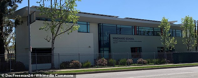 Windward School (pictured) prides itself on being an 'inclusive community' and dedicated over $2.3 million to financial aid during the 2019-20 academic year