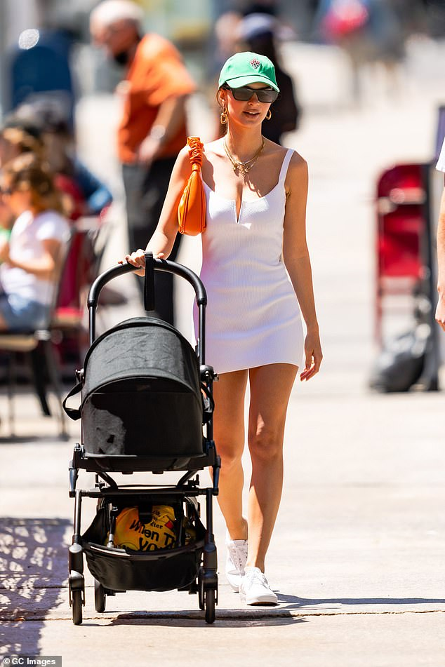 Motherhood: The star is often seen with her son in the Big Apple