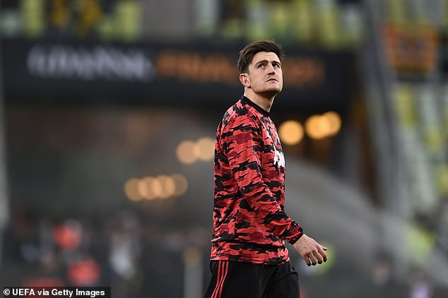 Manchester United's Harry Maguire was on the list despite concerns over his fitness