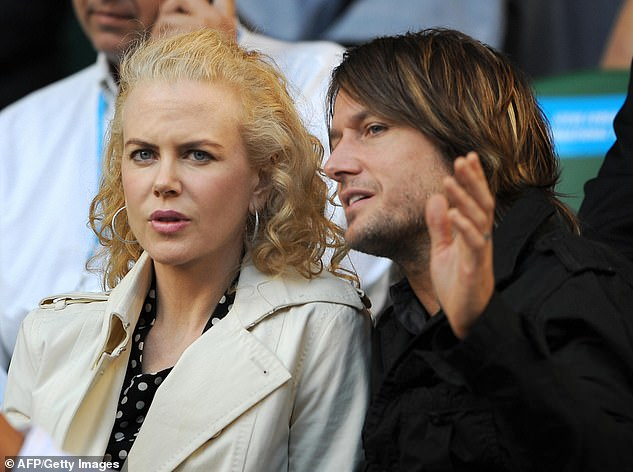 True love: Nicole is now wed to Keith Urban; seen here in 2008 in Melbourne
