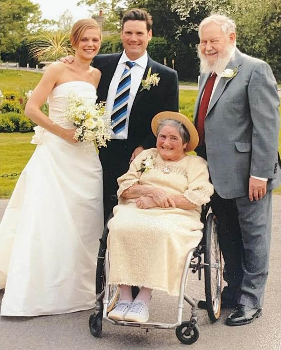 Keir Starmer with his parents, Rodney and Josephine, taken on his wedding day to wife Victoria Alexander in 2007