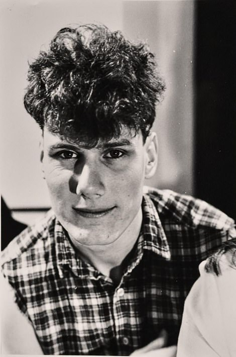 Clips from vintage telly comedies compared Keir's youthful idealism to the antics of Citizen Smith and the Tooting Popular Front. Pictured: Starmer in his student days