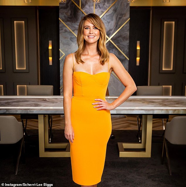Breakout star:Scherri-Lee Biggs is currently stealing the show on The Celebrity Apprentice
