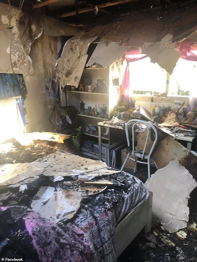 Victorian woman Fiona Laird has shared how her tight-knit Harrietville community lent a hand after she accidentally burnt down her daughters' two-bedroom apartment