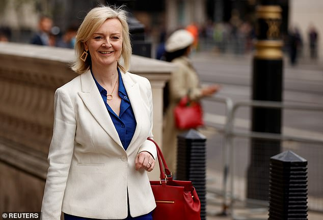 Ms Truss (pictured in Westminster last month) hailed a step towards accession to the club - which includes Australia, Canada and Japan - after the members gave the go-ahead for negotiations to start