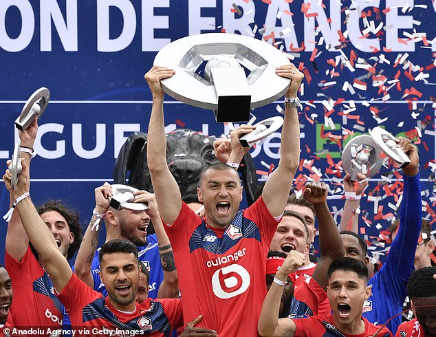Celik made 35 appearances in all competitions for Lille - who won Ligue 1 - in 2020-21