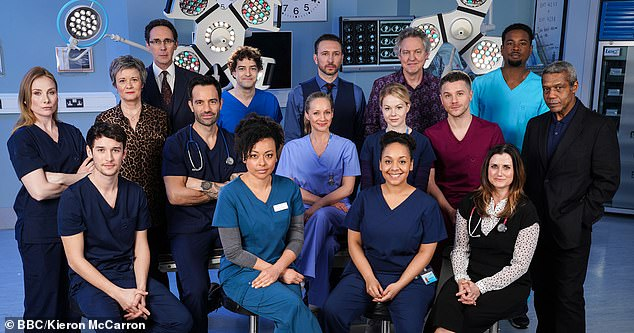 Pulling the plug: The BBC will scrap Holby City next year after 23 years as it continues its drive to appear more northern, sparking a furious backlash among fans