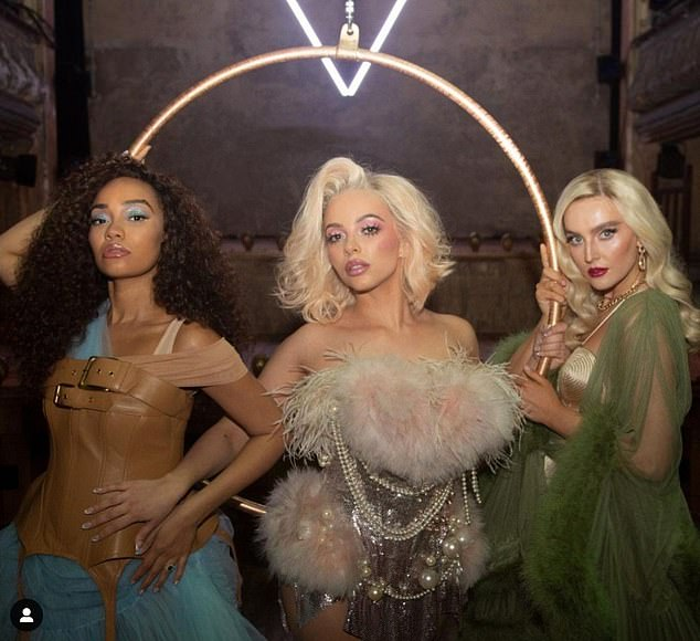 Here come the girls!Speaking to Sian Welby and Roman Kemp on Capital Breakfast, Leigh-Anne detailed what life was like working on-set while pregnant