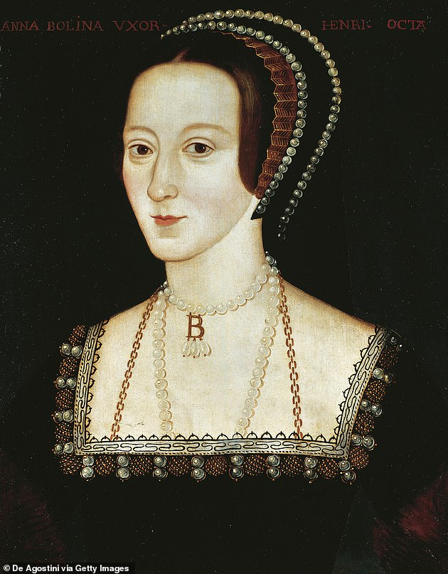 Thoughts: Jodie said while some viewers might find it hard to see her as the doomed second wife of Henry VIII (pictured), she was sure others were 'finally ready' to see her in the role