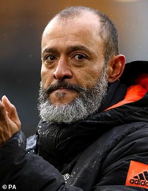 Nuno Espirito Santo is the favourite following his Wolves resignation