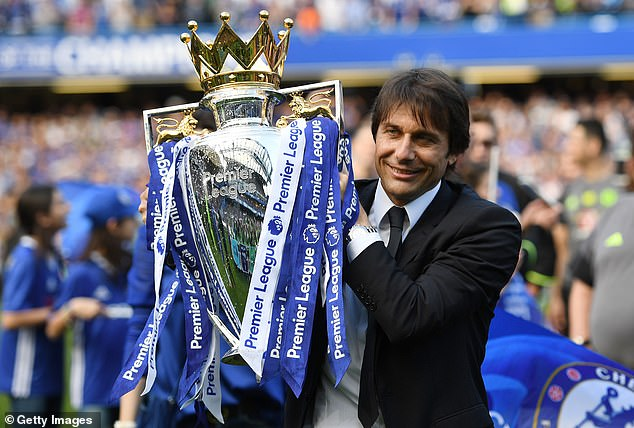 The 51-year-old Italian won the 2016-17 Premier League in his first season at Chelsea