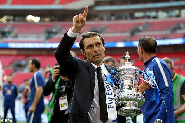 He then followed that up with an FA Cup win after they beat Manchester United at Wembley