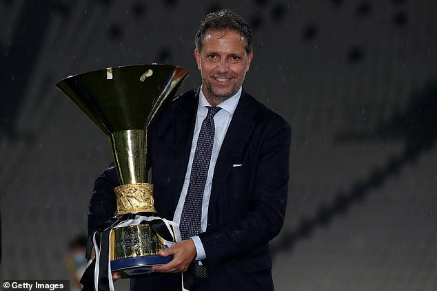 Spurs have also been linked with bringing in former Juventus sporting director Fabio Paratici