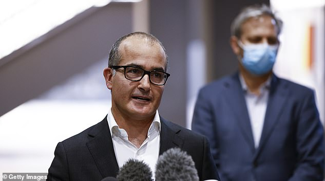Acting Premier James Merlino announced an extension to the lockdown on Wednesday