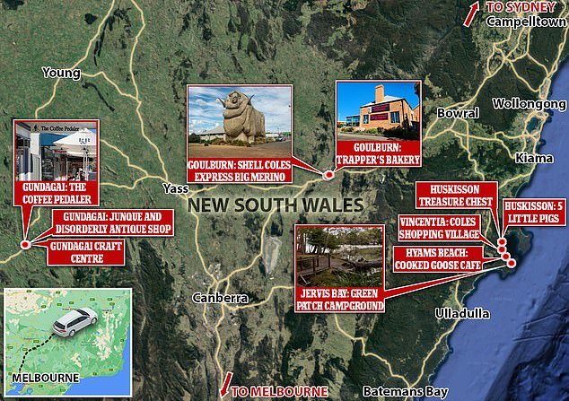 There are fears the outbreak may have spread to NSW after a family from Melbourne went on a roadtrip