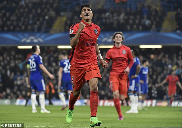 Thiago Silva's header deep inside stoppage time saw PSG knock out Chelsea from the last-16