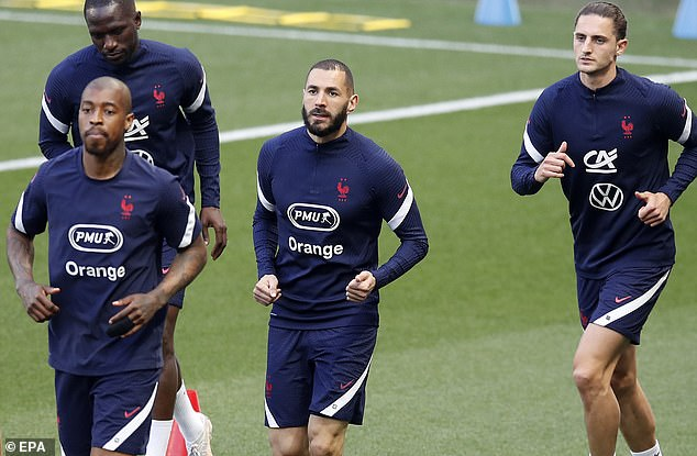 France have recalled Karim Benzema (centre) back into the team after six years away